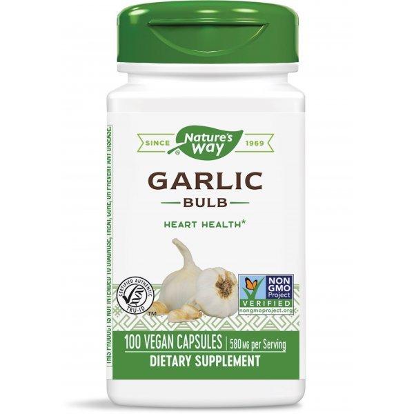 Nature's Way Garlic Bulb 580 мг 100 капсули13000