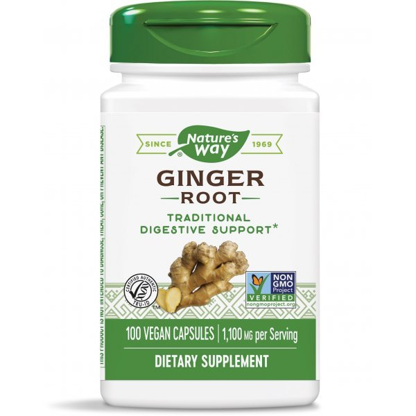 Nature's Way Ginger Root 550 мг 100 капсули13100