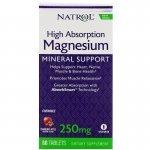 Natrol High Absorption Magnesium 60 таблеткиNAT4132