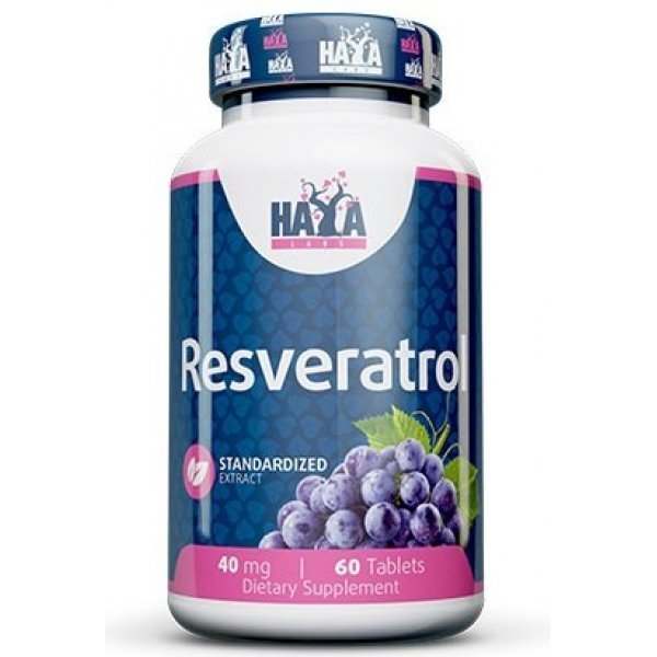 Haya Resveratrol 40 мг 60 таблеткиHaya Resveratrol 60 таблетки
