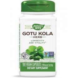 Nature`s Way Gotu Kola 475 мг 100 капсули