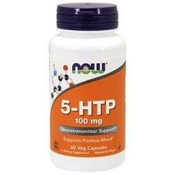NOW 5-HTP 100 mg 60 капсули