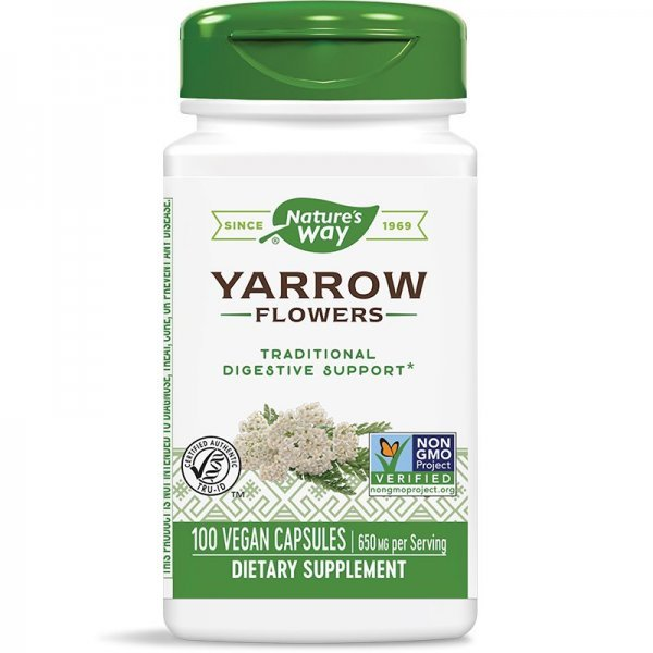 Nature's Way Yarrow 325 мг 100 капсули14165