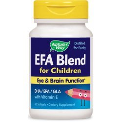 Nature's Way EFA Blend For Children 445 мг 60 капсули