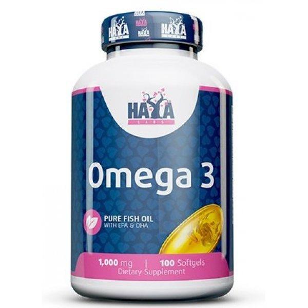 Haya Omega 3 1000 мг 100 дражетаHaya Omega 3 1000 мг 100 дражета