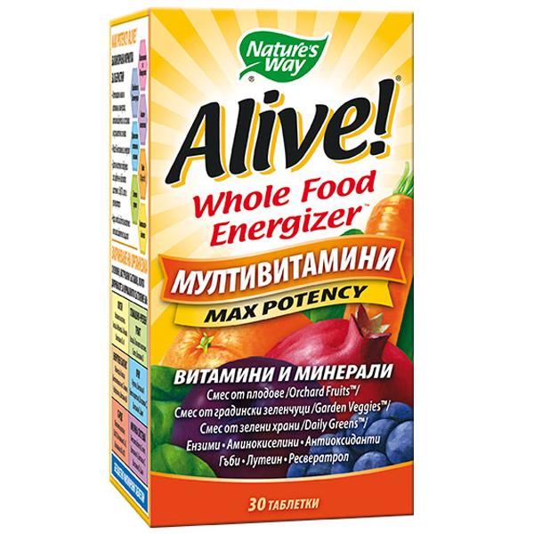 Nature's Way Alive 30 таблетки14925