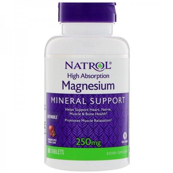 Natrol High Absorption Magnesium 60 таблеткиNAT413