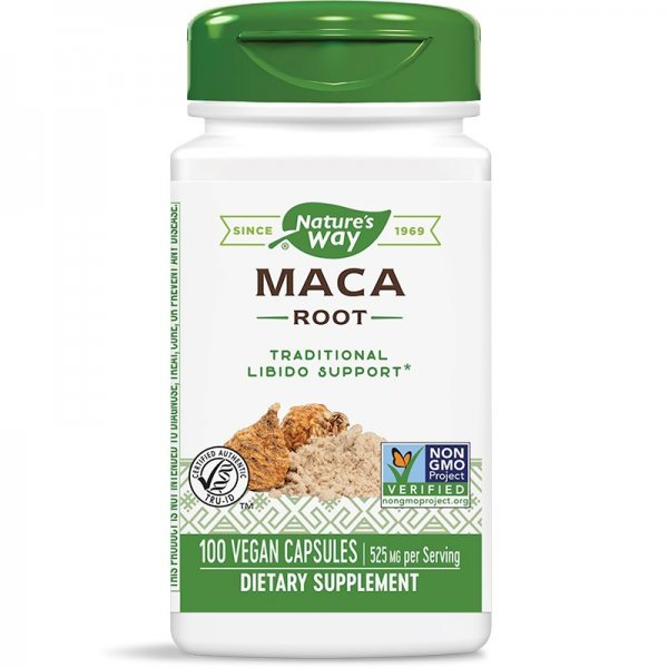 Nature's Way Маса Root 525 мг 100 капсули15310