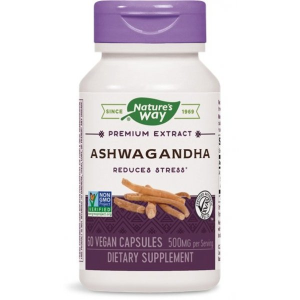 Nature's Way Ashwagandha 50 мг 60 капсули15387
