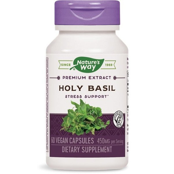 Nature`s Way Holy Basil 450 мг 60 капсули 15493