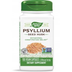Nature's Way Psyllium Husk 525 мг 100 капсули