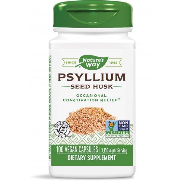 Nature's Way Psyllium Husk 525 мг 100 капсули15750