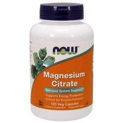 NOW Magnesium Citrate 120 капсули
