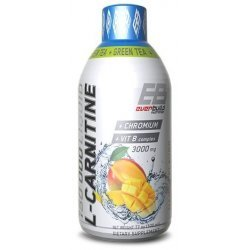 EVERBUILD Liquid L-Carnitine 3000 мг + Green Tea 500 мл