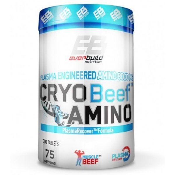 EVERBUILD Cryo Beef Amino 8000 мг 300 таблеткиEB627