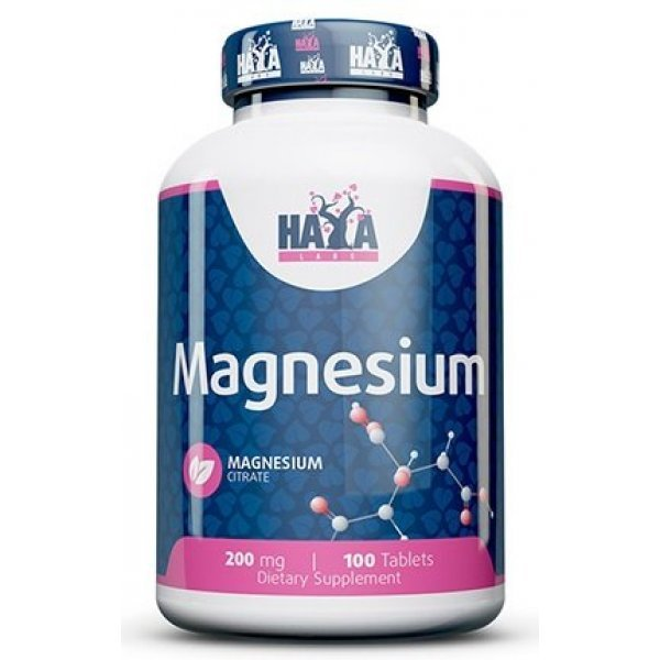 Haya Magnesium Citrate 200 мг / 100 таблеткиHaya Magnesium Citrate 200 мг / 100 таблетки