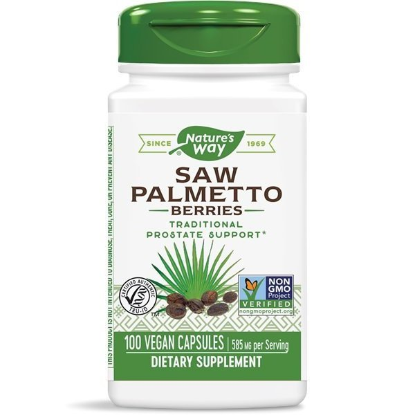 Nature's Way Saw Palmetto 585 мг 100 капсули16750