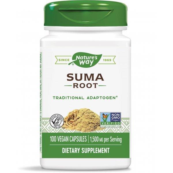 Nature's Way Suma 500 мг 100 капсули17400