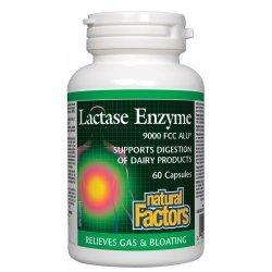 Natural Factors Лактаза ензими 250 мг 60 капсули
