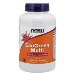 NOW EcoGreen Multi 180 капсули