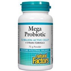 Natural Factors Mega Probiotic 12 Billion Active Cells 75 гр