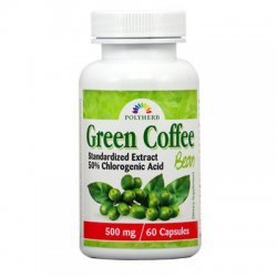 Green Coffee Bean Extract 500 мг 60 капсули