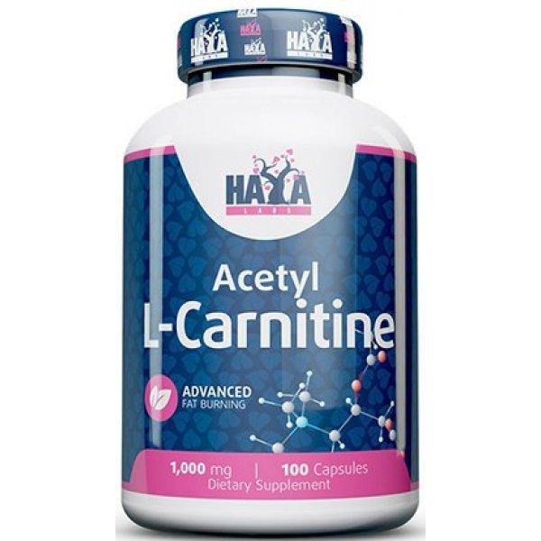 Haya Acetyl L-Carnitine 1000 мг 100 капсулиHL956