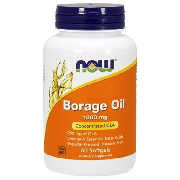 NOW Borage Oil 60 дражетаNOW1720