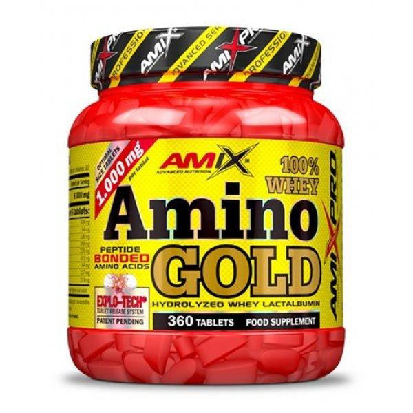 AMIX Amino Whey Gold 360 таблетки AM58