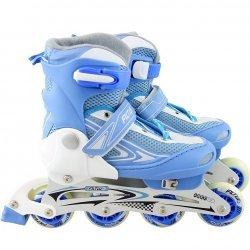 Ролери и зимни кънки 2 в 1 31-34 номер Blue