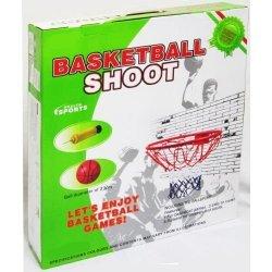 Баскетболен ринг, топка, помпа и мрежа