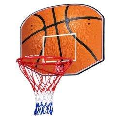 Баскетболно табло с кош и мрежа 80 х 60 см