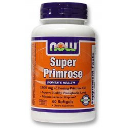 NOW Super Primrose Oil 60 дражета
