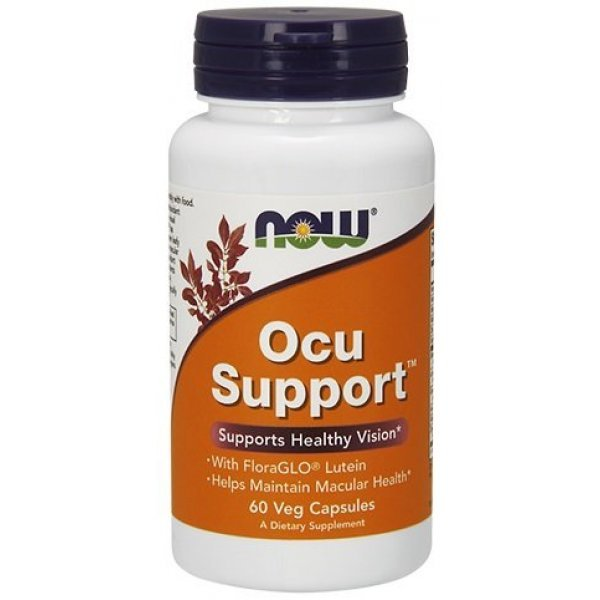 NOW Ocu Support 60 капсулиNOW3300