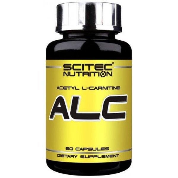 Scitec Acetyl-L-Carnitine 60 капсулиALC