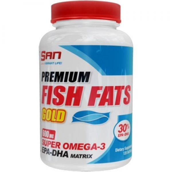 SAN Fish Fats Gold 120 дражетаSAN Fish Fats Gold 120 дражета