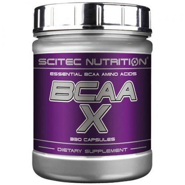 Scitec BCAA X 330 капсулиScitec BCAA X 330 капсули