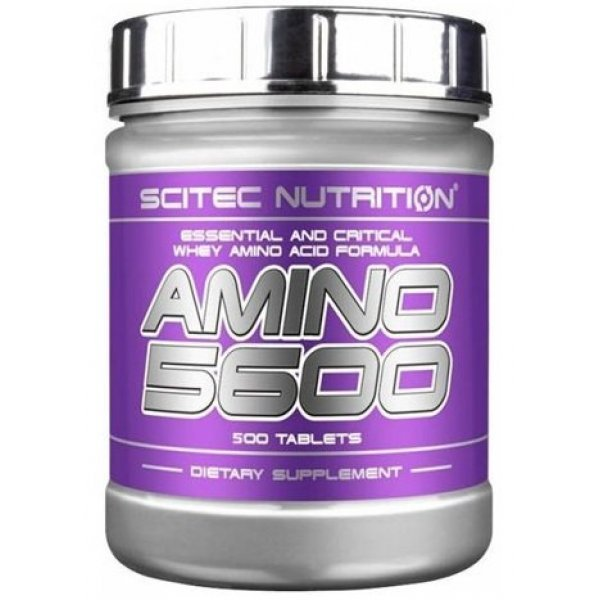 Scitec Amino 5600 500 таблеткиAmino 5600 500 таблетки