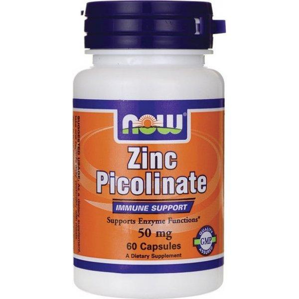 NOW Zinc Picolinate 60 капсулиNOW1550