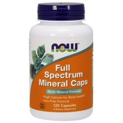 NOW Full Spectrum Minerals 120 капсули