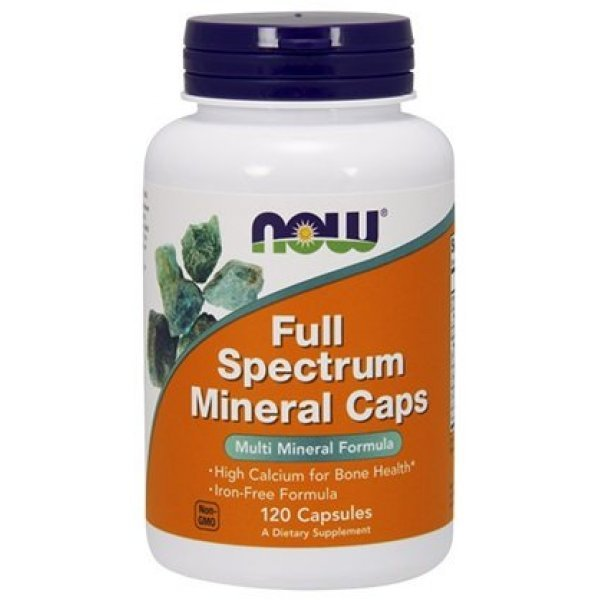 NOW Full Spectrum Minerals 120 капсулиNOW1540