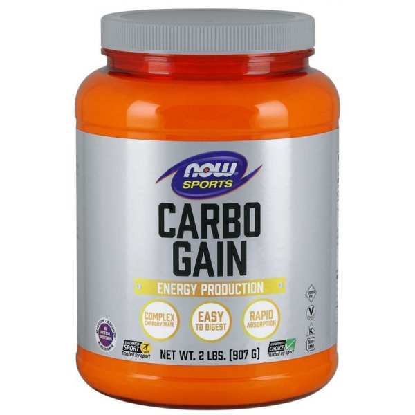 NOW Carbo Gain 907 грNOW2020