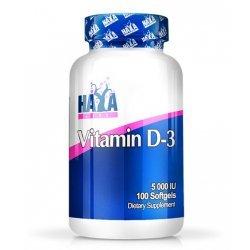 Haya Vitamin D-3 / 5000 IU / 100 гел-капсули