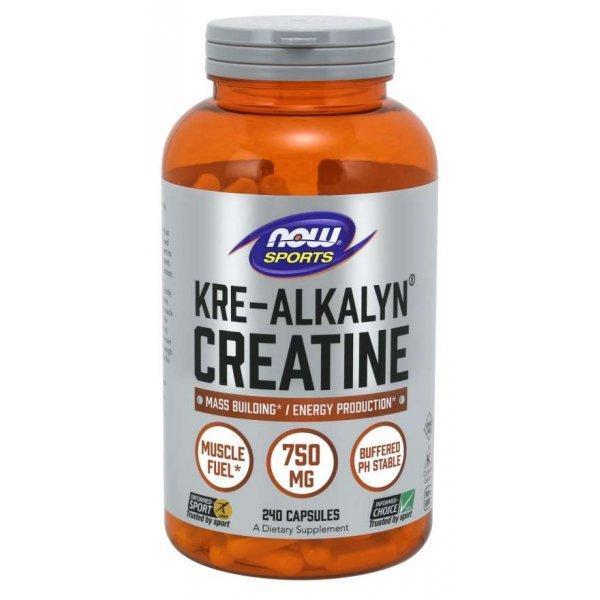 NOW Kre Alkalyn Creatine 240 капсулиNOW2053