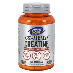 NOW Kre Alkalyn Creatine 120 капсули