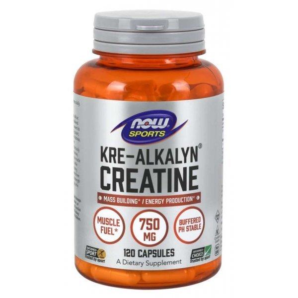 NOW Kre Alkalyn Creatine 120 капсулиNOW2055