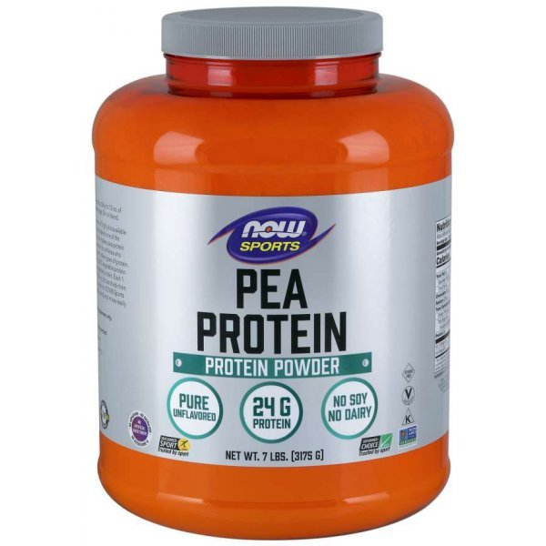 NOW Pea Protein Unflavoured 3175 грNOW2124