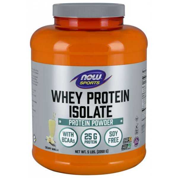 NOW Whey Protein Isolate 2270 грNOW2112