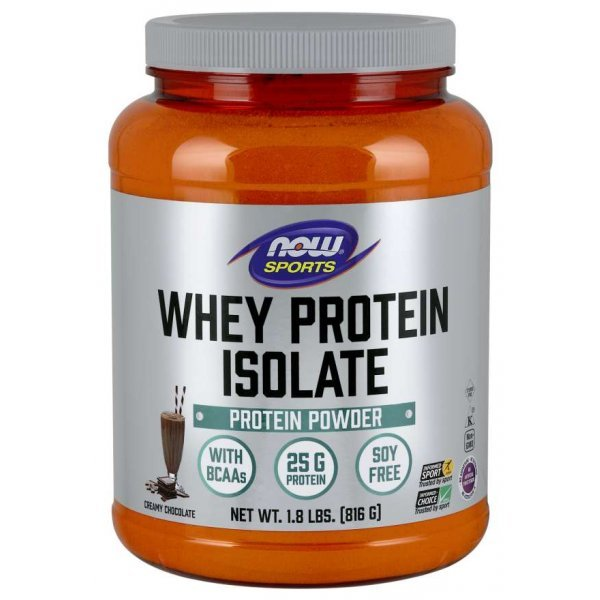 NOW Whey Protein Isolate 816 грNOW2160