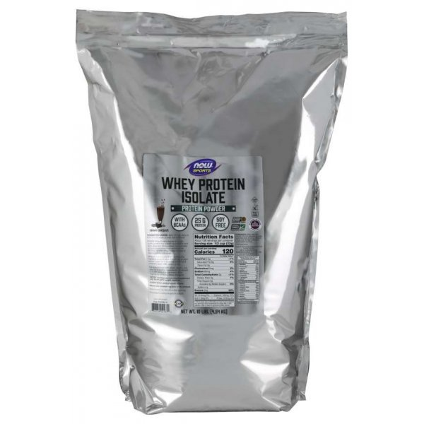 NOW Whey Protein Isolate 4536 гр Whey Protein Isolate 4536гр